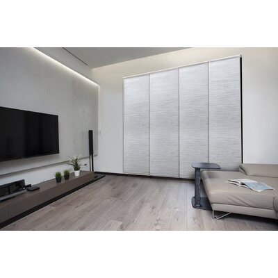 Deluxe Adjustable Sliding Room Darkening Marble Vertical Blind