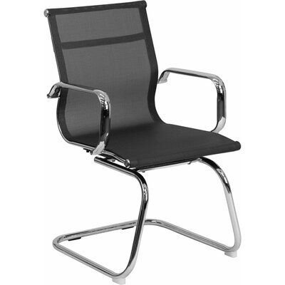 Dunson Transparent Mesh Guest Chair