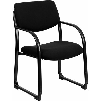 Kruger Executive Guest Chair Seat Color: Black