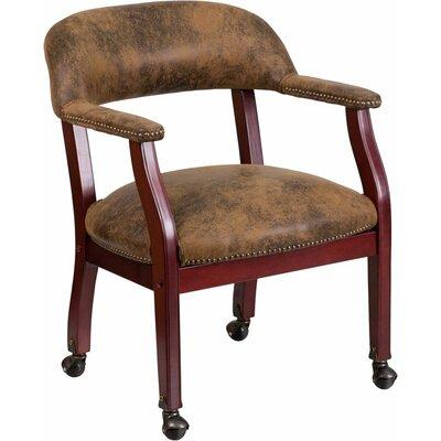Terranova Guest Chair Upholstery: Brown