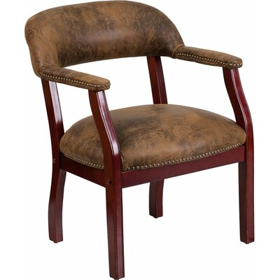 Terranova Guest Chair Seat Color: Brown