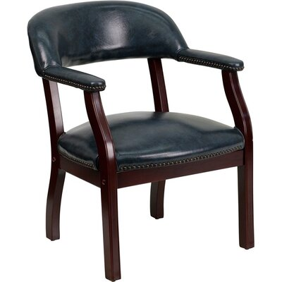 Terranova Guest Chair Seat Color: Navy