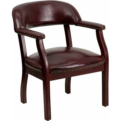 Terranova Guest Chair Seat Color: Burgundy