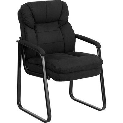 Kropp Executive Guest Chair Color (Upholstery): Black