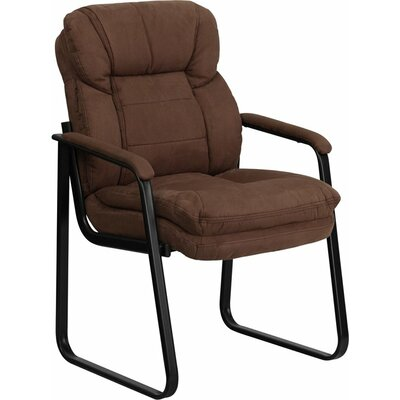 Kropp Executive Guest Chair Color (Upholstery): Brown