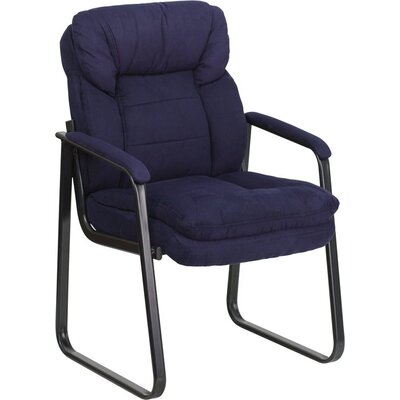 Kropp Executive Guest Chair Color (Upholstery): Navy