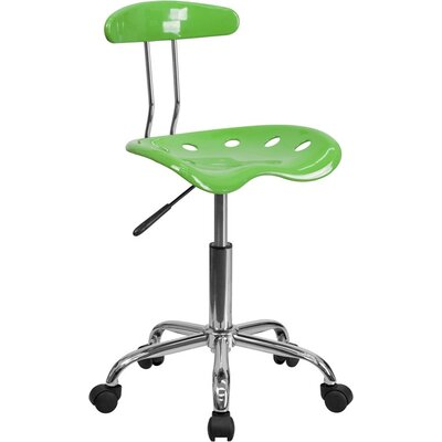 Mccrary Industrial Chair Seat Color: Spicy Lime 71C0D3DA00D342E0A96E9A2054F258B1
