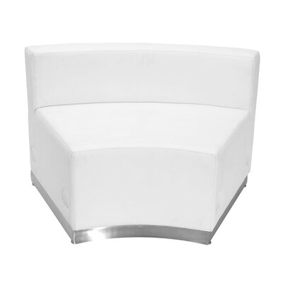 Wheatley Leather Guest Chair Seat Color: White