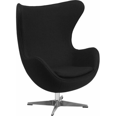 Wheatley Guest Chair Seat Color: Black