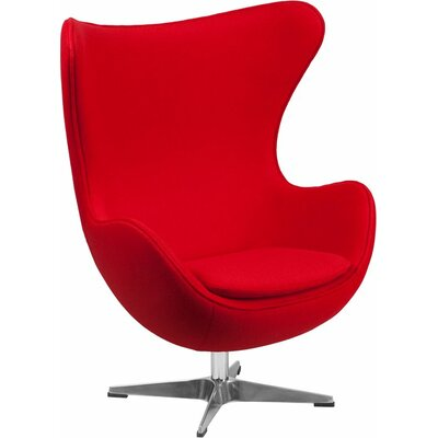 Wheatley Guest Chair Seat Color: Red