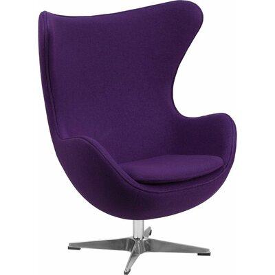 Wheatley Guest Chair Seat Color: Purple