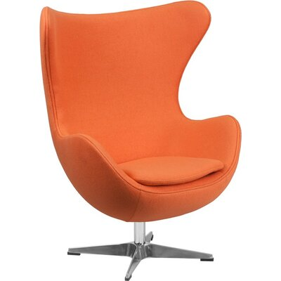 Wheatley Guest Chair Seat Color: Orange
