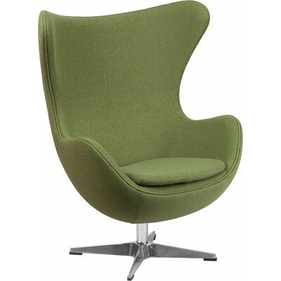 Wheatley Guest Chair Seat Color: Green