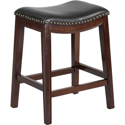 Jenkin 26 Backless Bar Stool Color: Cappuccino