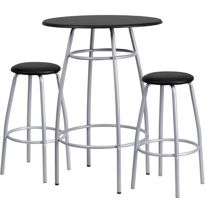 Eberhard 3 Piece Pub Table Set