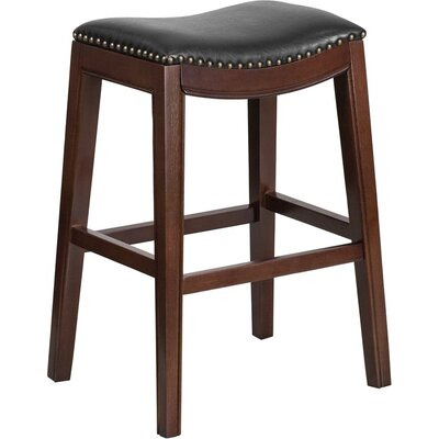 Jenkin 30 Backless Bar Stool Color: Cappuccino