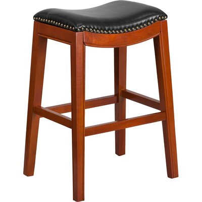 Jenkin 30 Backless Bar Stool Color: Light Cherry