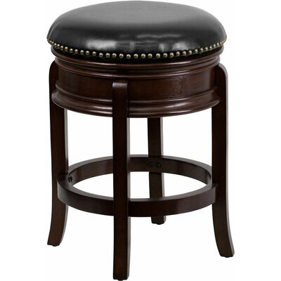 Jenkin Backless 25 Swivel Bar Stool Color: Cappuccino