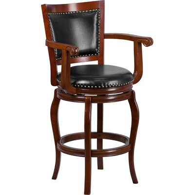 Matheson 30 Panel Back Swivel Bar Stool