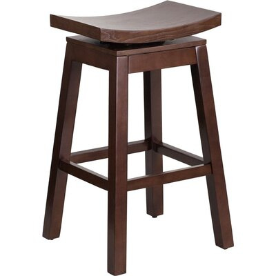 Follis 30 Saddle Swivel Bar Stool
