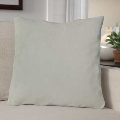 Eason Supersoft Shell Pillow Cover Color: Light Gray