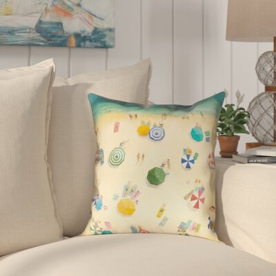 East Summer Fun Throw Pillow