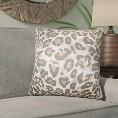 Bitton Animal Print Cotton Throw Pillow