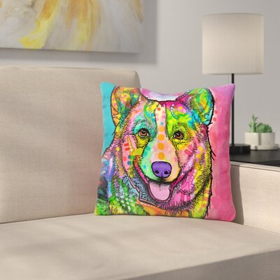 Welsh Corgi Throw Pillow