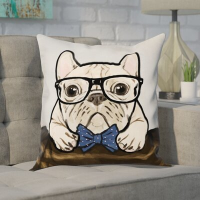 Fernando Nerdy Gentleman Throw Pillow