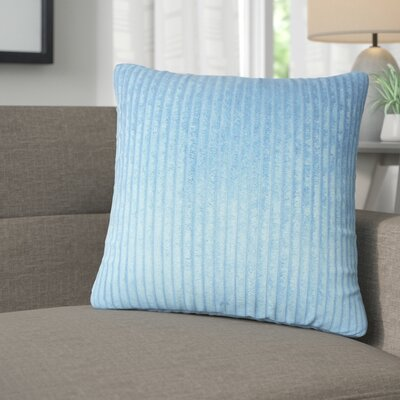 Galilea Solid Throw Pillow Color: Royal Blue
