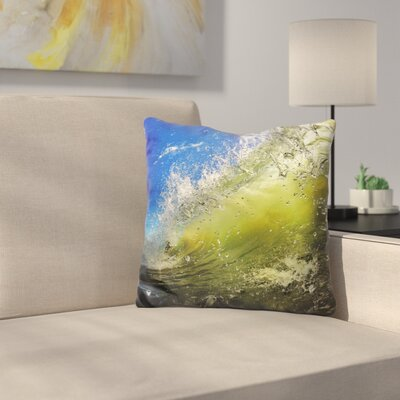 Ramachandra Surf Throw Pillow