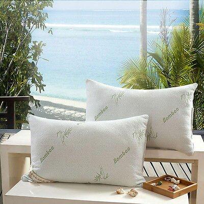 Gardea Bamboo Memory Foam King Pillow