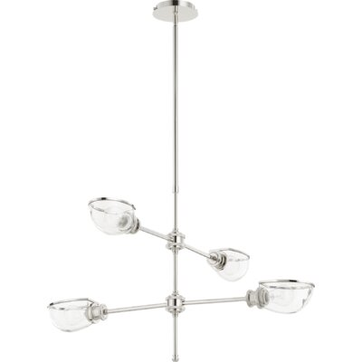 Digiovanni 4-Light Sputnik Chandelier Finish: Polished Nickel