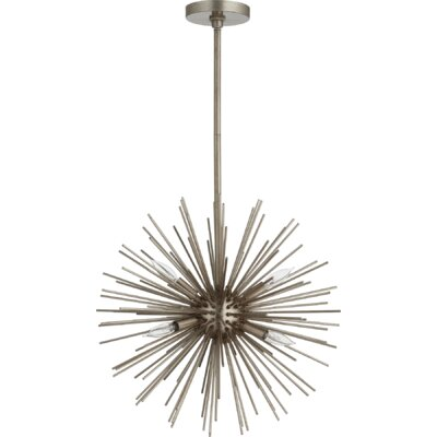 Kovac 6-Light Sputnik Chandelier Finish: Antique Silver