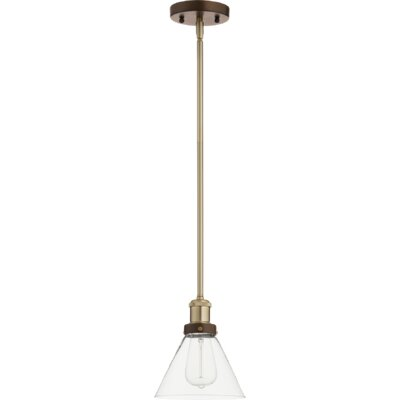 Dipasquale Cone 1-Light Mini Pendant