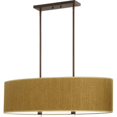 Morelock 4-Light Drum Pendant Finish: Oiled Bronze