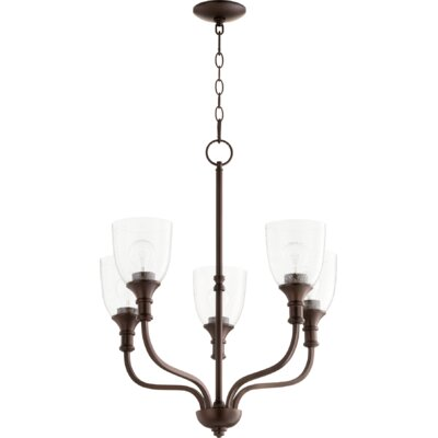Falbo 5-Light Candle-Style Chandelier