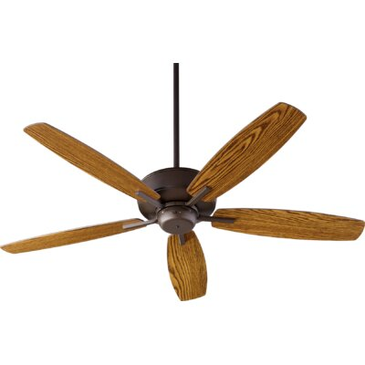 52 Lancaster 5 Blade Ceiling Fan Finish: Oiled Bronze