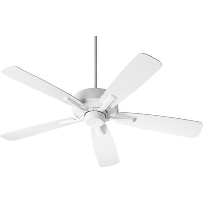 52 Lamphere 5 Blade Ceiling Fan Finish: Studio White