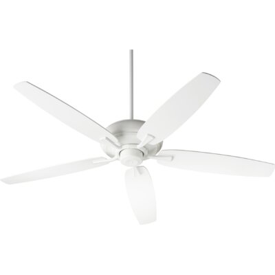 56 Falzone 5 Blade Ceiling Fan Finish: Studio White