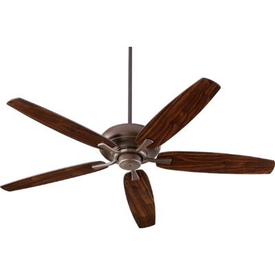 56 Falzone 5 Blade Ceiling Fan Finish: Oiled Bronze