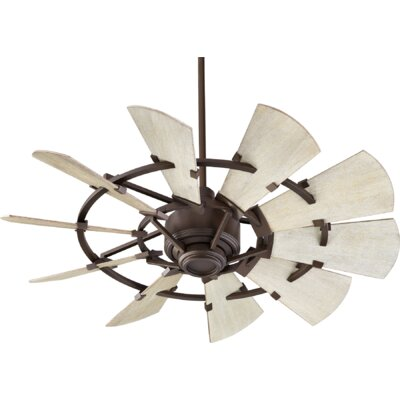 44 Mercado 10 Blade Ceiling Fan Finish: Oiled Bronze