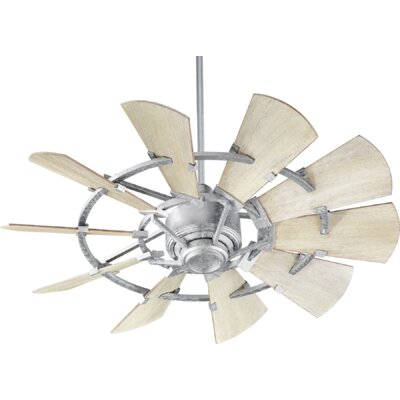 44 Mercado 10 Blade Ceiling Fan Finish: Galvanized