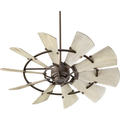 52 Mercado 10 Blade Ceiling Fan Finish: Oiled Bronze