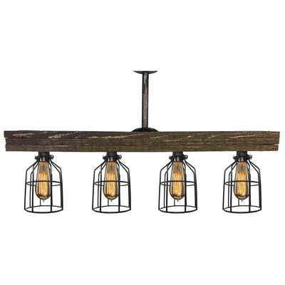 Varley 4-Light Kitchen Island Pendant