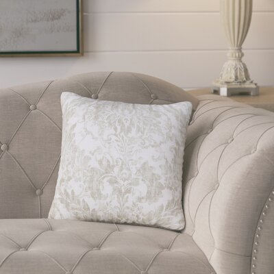 Zenon Square Throw Pillow Size: 26