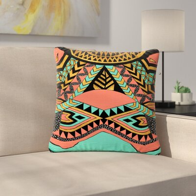Pom Graphic Design PeruNative Outdoor Throw Pillow Size: 18 H x 18 W x 5 D