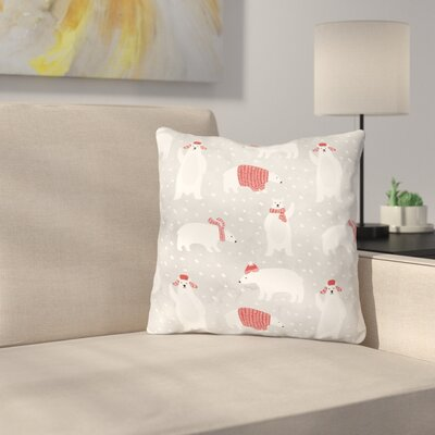 Chevy Polar Pattern Throw Pillow Size: 16 x 16