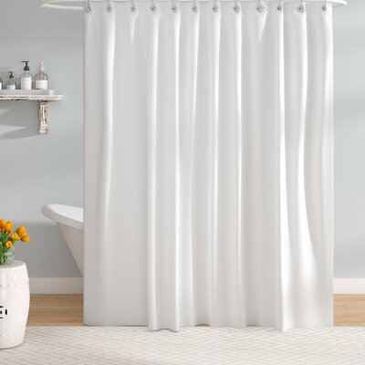 EVA Shower Curtain Liner Color: White