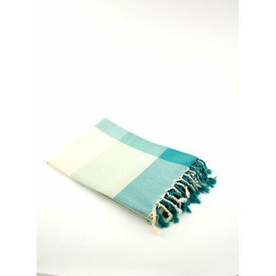 Fouta Beach Towel Color: Aqua